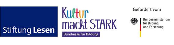 Logo: Stiftung Lesen - Kultur macht stark