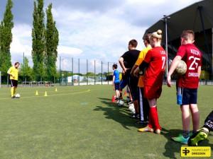 Ferien-Fußballtraining mit Thomas Neubert