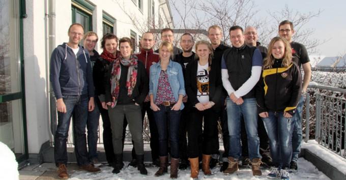 Vorstand und Mitarbeiter des FP Dresden