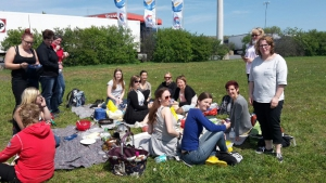 Picknick bei strahlendem Sonnenschein Foto: © Janine M.
